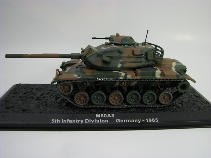 Tank M60A3 Patton Germany 1985 1:72 Atlas edition